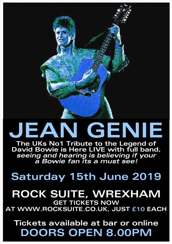 Jean Genie A Tribute to David Bowie