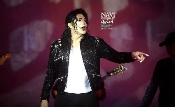 Navi as Michael Jackson King of Pop