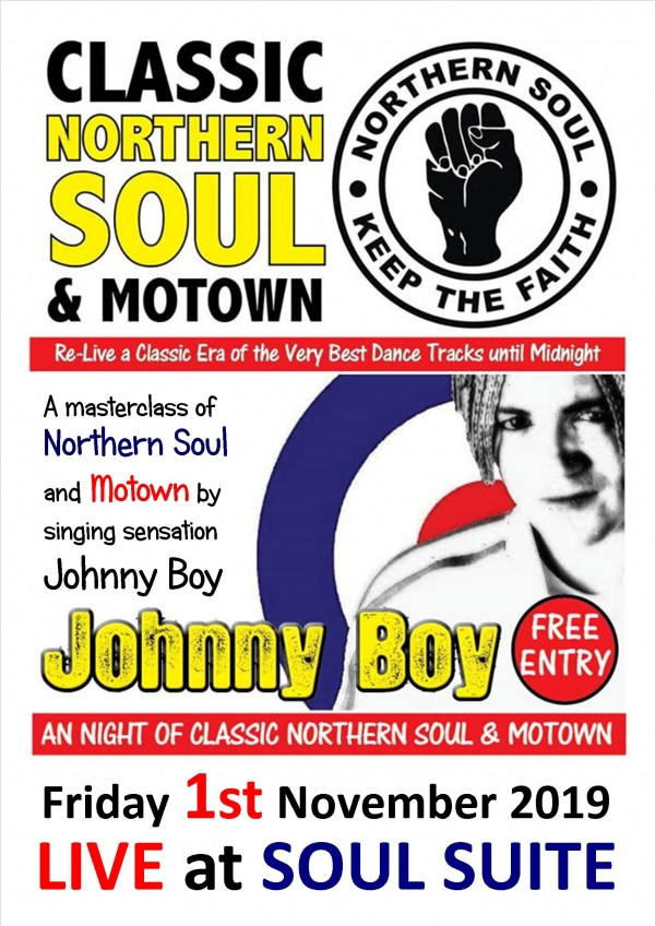 Northern and Motown special with Johnny Boy