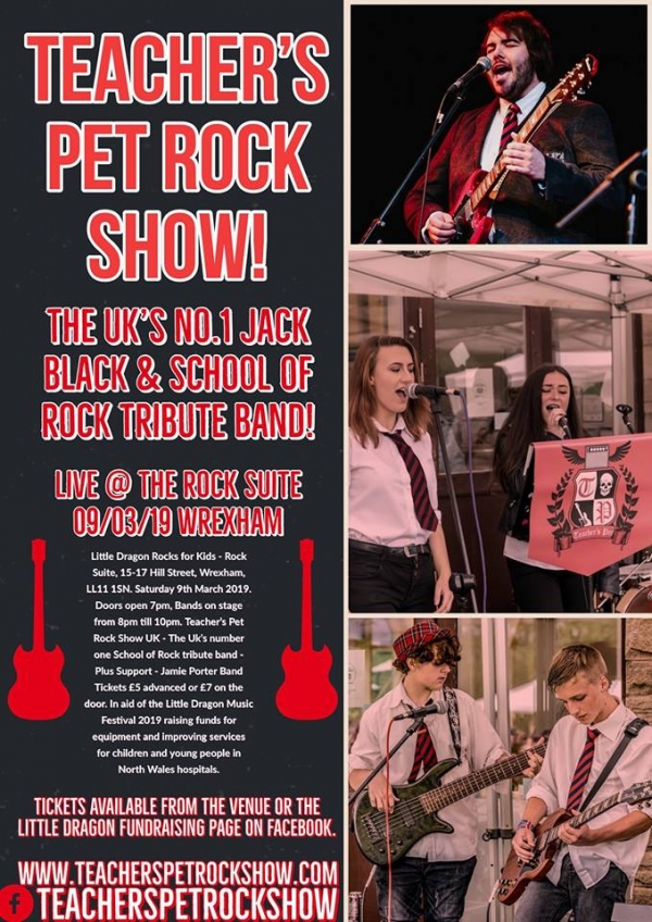 School of Rock Tribute show Plus support by The Jamie Porter Band