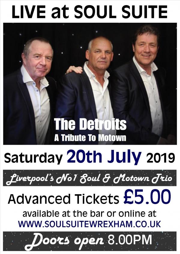 The Detroits Soul & Motown Show