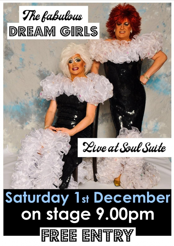 These two will have you in stitches, and they can sing too in their top class drag show !!